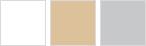 BArevné odstínu RUSTICAL: bílá, béžová, šedá
